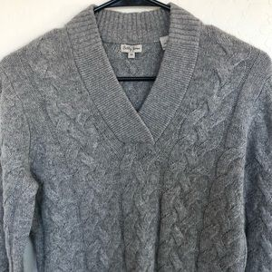 Bobbi Jones Cashmere Cableknit Sweater